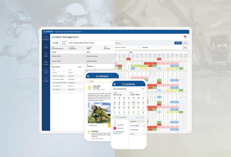 Cimara, Workforce management application by 372 Digital