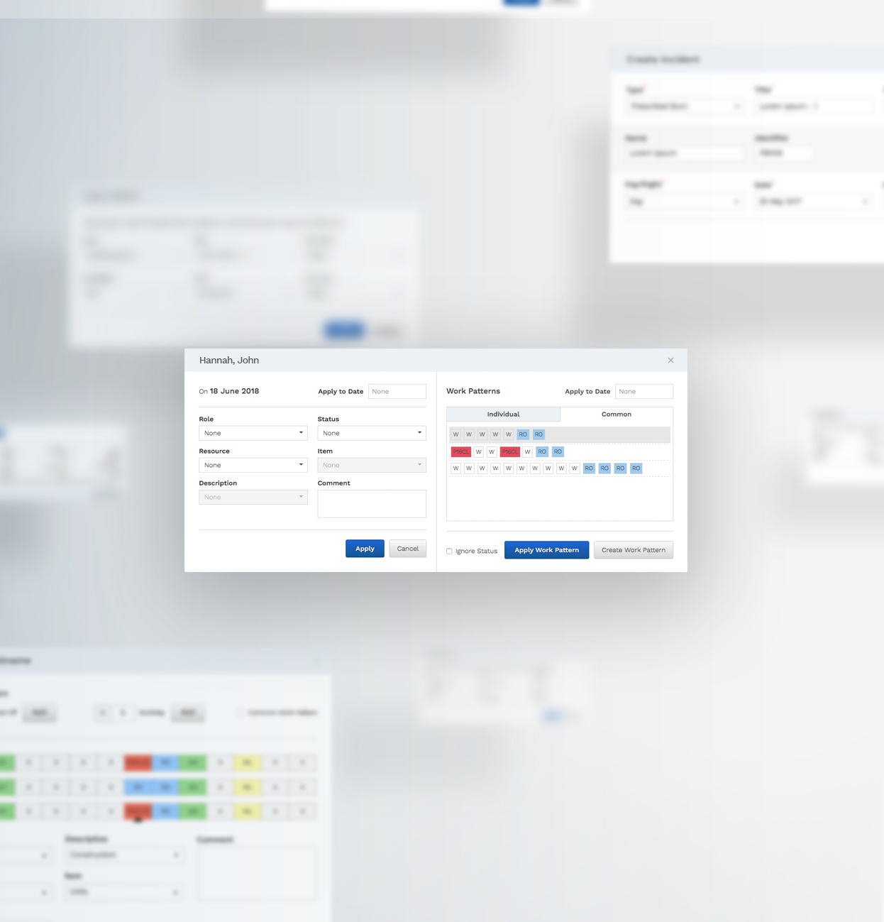 Cimara Rostering application by 372 Digital